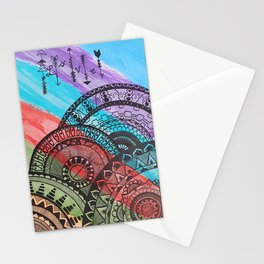 Mandala Abstract 1 Stationery Cards