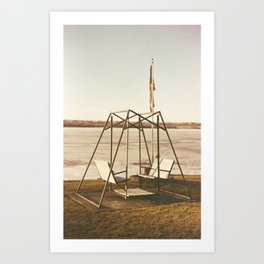 Seat for No One Art Print