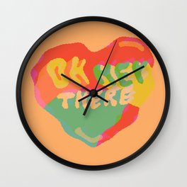 Oh Hey There Wall Clock