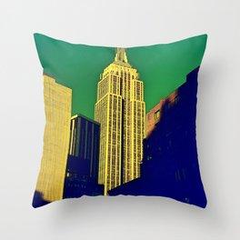 Artistic Empire Throw Pillow