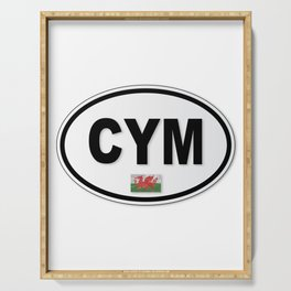 CYM Plate Serving Tray