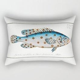 Marcus Elieser Bloch - Argus Rectangular Pillow