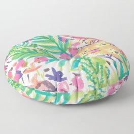 My Tropical Garden Floor Pillow