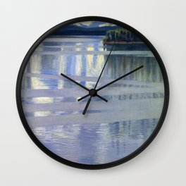 Akseli Gallen-Kallela - Lake Keitele - Digital Remastered Edition Wall Clock