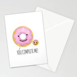 You Complete Me Stationery Cards