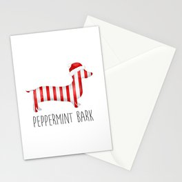 Peppermint Bark Stationery Cards