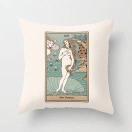 The Venus Throw Pillow