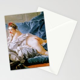 "François Boucher ""Brown Odalisque (L'Odalisque Brune)"" (1745) Stationery Cards"