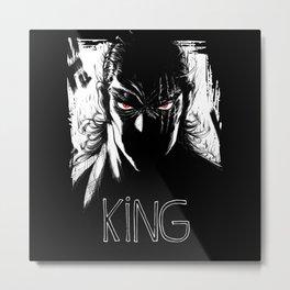 Hero King Metal Print