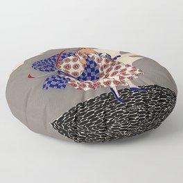 "Martha Romme Couture Design ""Nivoise"" Floor Pillow"