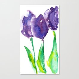 flower X Canvas Print
