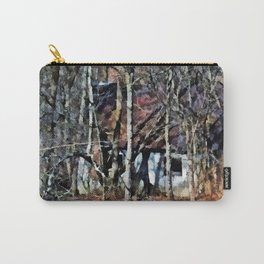 Shack in Woods PhotoArt Carry-All Pouch