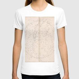 Johann Bayer - Uranometria / Measuring the Heavens (1661) - 49 Northern Celesial Hemisphere T-shirt