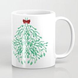 Mistletoe Holiday Love Coffee Mug