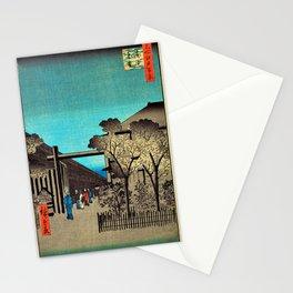 Utagawa Hiroshige - Famous Views Of Edo - Kakuchu Shinonome Stationery Cards