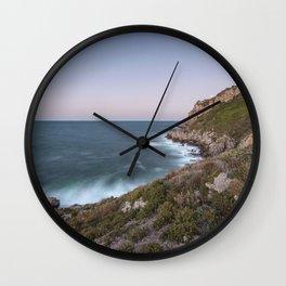 Blue hour Wall Clock