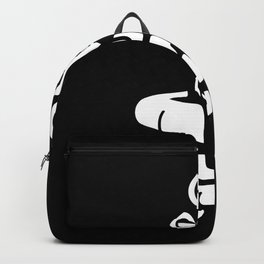 Pew Pew Handgun Pistol Backpack