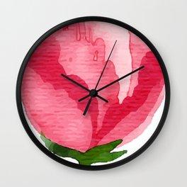 Beauty Rose Flower Wall Clock