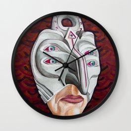 +K4 Kanji Otoko Wall Clock