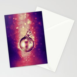 Tired of Disco Stationery Cards