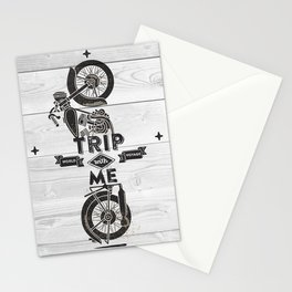 TRIP WITH ME Stationery Cards