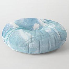 Snowy Kingdom Floor Pillow