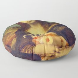 Mona Lisa Stocked Up Floor Pillow