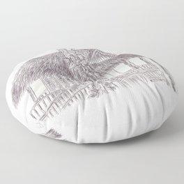 BALLEPN TRAVEL IN LAOS 7 Floor Pillow