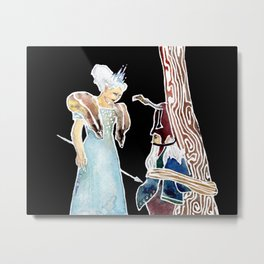 Jadis: The White Witch Metal Print