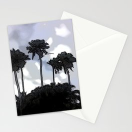 Palmiers blues - Palmetto blues Stationery Cards