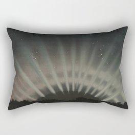 The Trouvelot Astronomical Drawings (1881) - The Aurora Borealis Rectangular Pillow