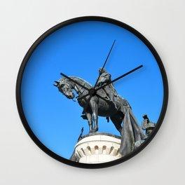 cluj napoca statue Wall Clock