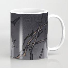Dead Tree with Bats Coffee Mug