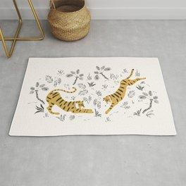 Tiger Dive Rug
