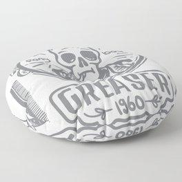 Greaser I Floor Pillow