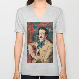 John Peter Russell - Fabian de Castro - Digital Remastered Edition Unisex V-Neck