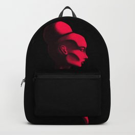 Red Cameo Backpack