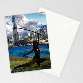The Diamond Age - Neal Stephenson Stationery Cards