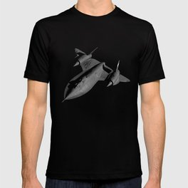 SR-71 Blackbird Flying T-shirt