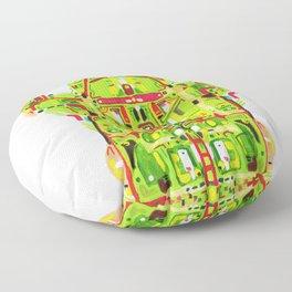 Hunter Toad Floor Pillow
