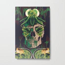 Chilli skull Metal Print