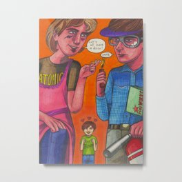 Disco Duncan and Pyrotechnician Metal Print