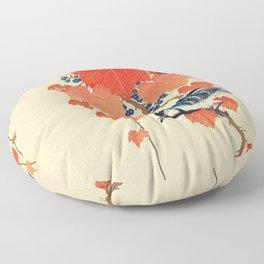 Autumn Songbird  Floor Pillow