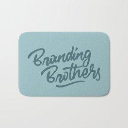 Branding Brothers turquoise Bath Mat