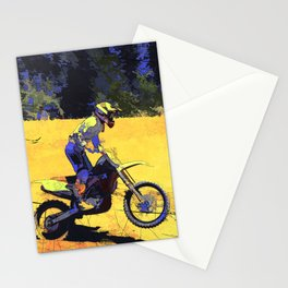 Riding Hard - Moto-x Champ Stationery Cards
