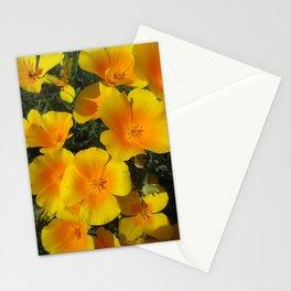 California Poppy Power Stationery Cards