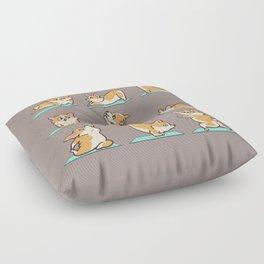 Corgi Yoga Floor Pillow