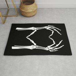 White Heart of Bones Rug