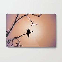 Bird Silhouette - Dawn Metal Print