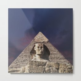 The Sphinx Metal Print